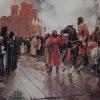 Иоанн Грозный в Вологде.1995г. 170х270см. х.м. Совместно с М. Копьевым.