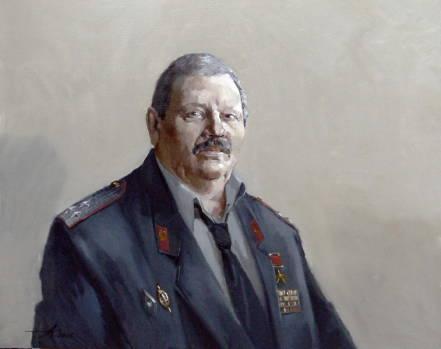 Портрет С. 2006г. 70х90см. х.м.