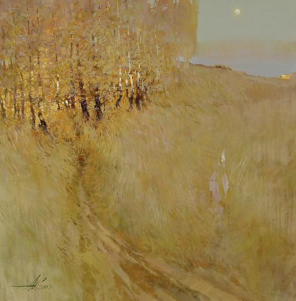 Осенник. 2003г. 70х70см. х. м.