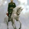 4)  Император Александр -2. 1999г. 220х170см. х.м.Совместно с Копьевым М.
