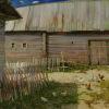 Полдень в деревне.2007г. х.м. 70х120см.